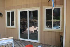 picture of windows installed in a california home