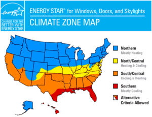 Energy Star Map Graphic