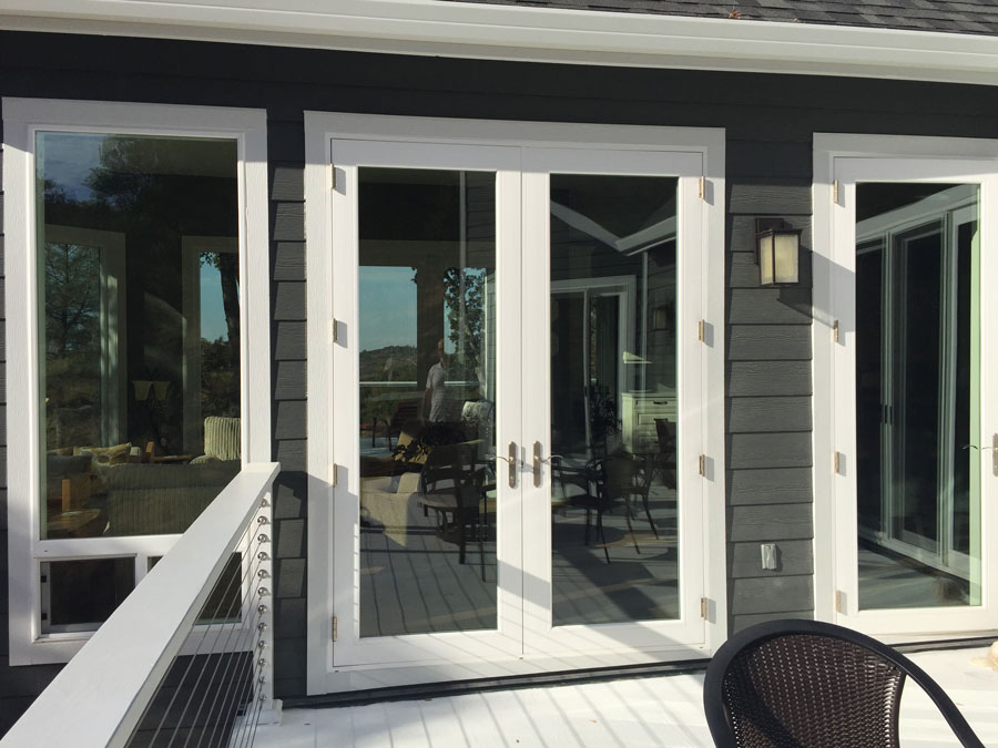 picture of a malibu door installed in a home